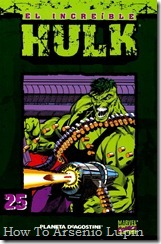 P00025 - Coleccionable Hulk #25 (de 50)