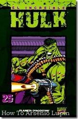 P00025 - Coleccionable Hulk #25 (de 50)