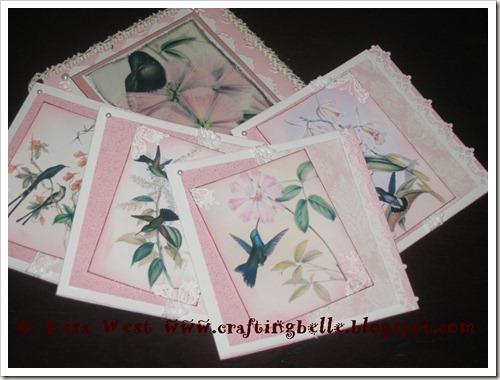 Vintage Notelets (5)