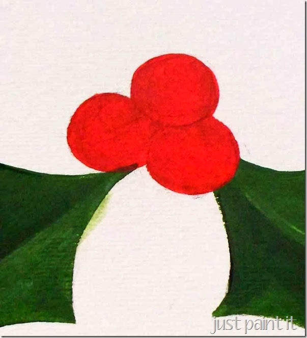 paint-holly-and-berries-G