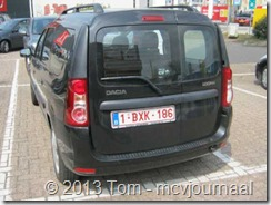 Dacia Logan MCV in Belgie 02
