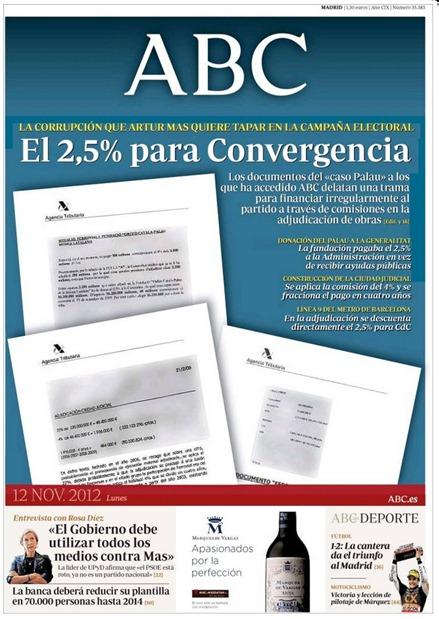 corrupcion catalana a l'ABC