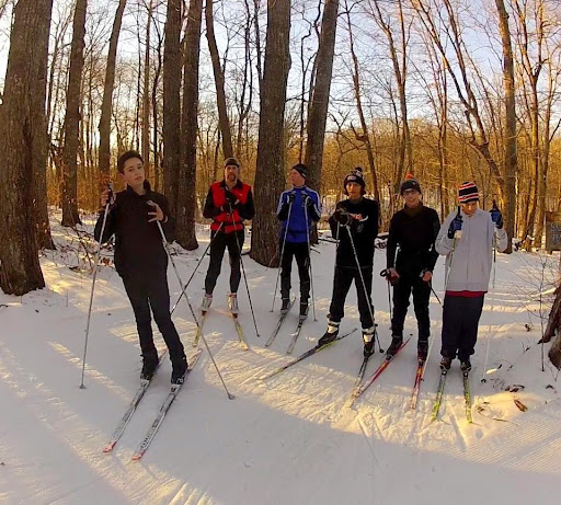 Minneapolis Washburn skiers on Skaters Waltz late Friday afternoon.
