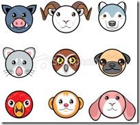 caras de animales para imprmir (10)