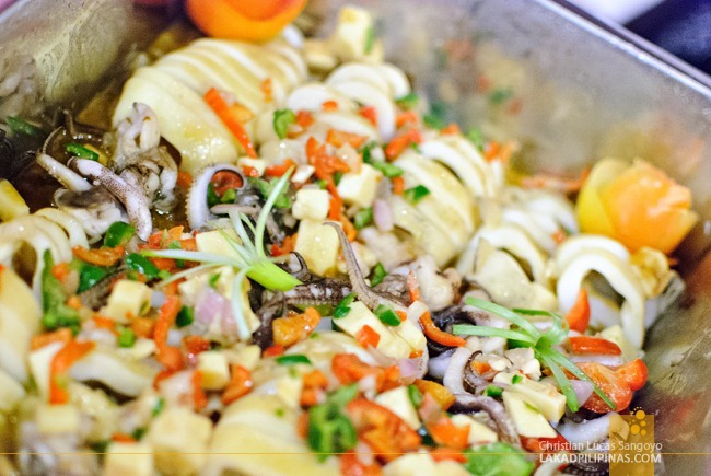 Squid with Veggies at Kart City Tarlac