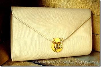 clutch bag - envelope clutch - cross body bag - shoulder bag - faux leather - handbag - reptile - Anthropologie style da etsy
