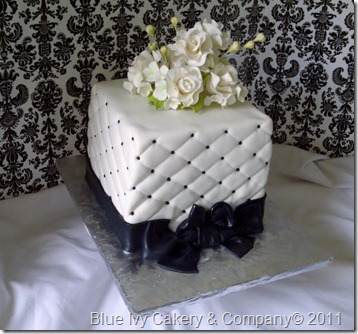 Fireproof Wedding Cake