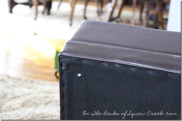 Storage Ottoman Assembly