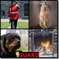 GUARD- 4 Pics 1 Word Answers 3 Letters