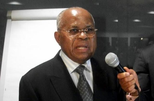 Etienne Tshisekedi, président de l'UDPS à Bruxelles en 2010. Photo udps.be