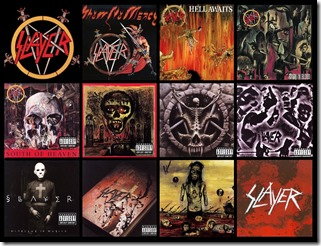 slayer album covers