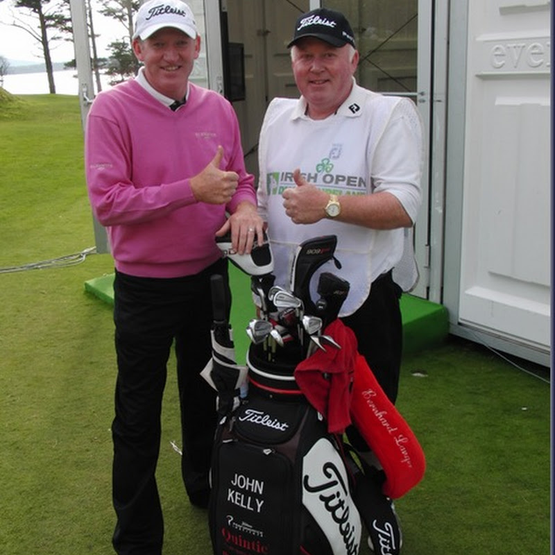 St. Margaret's John Kelly Makes The Cut At The 2011 Irish Open