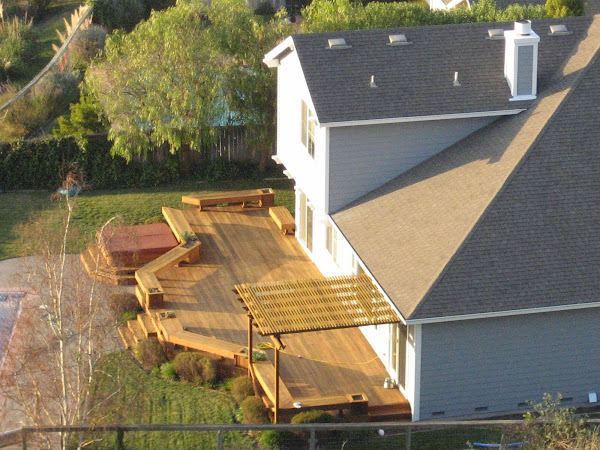 Decorating Ideas Backyard Deck Design Idea Home Furniture Design Design A Deck