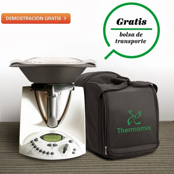 Gratis Promocion De Madrid Thermomix Bolsa Vane Transporte wY0vEqgwH