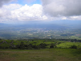 Pagaralam seen from the slopes of Gunung Dempo (Daniel Quinn, October 2011)