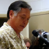1st testifier, Hokama