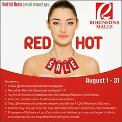 Robinsons Malls Red Hot Sale 02