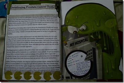 Issue on Prostate cancer test