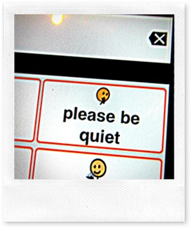 please be quiet 2011