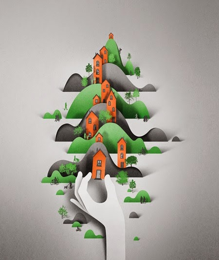 Ilustrações de recorte Eiko Ojala 01