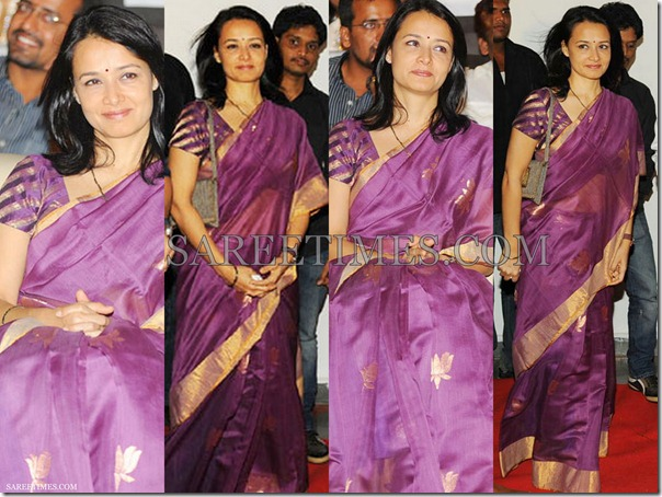 Amala_Purple_Cotton_Saree