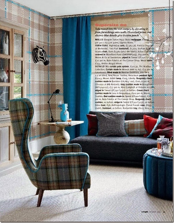 tendenza tartan - home decor - arredamento (2)