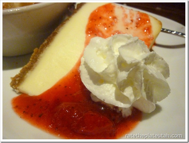 LongHorn Steakhouse Mountaintop Cheesecake
