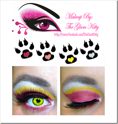 Clawdia Wolf Makeup