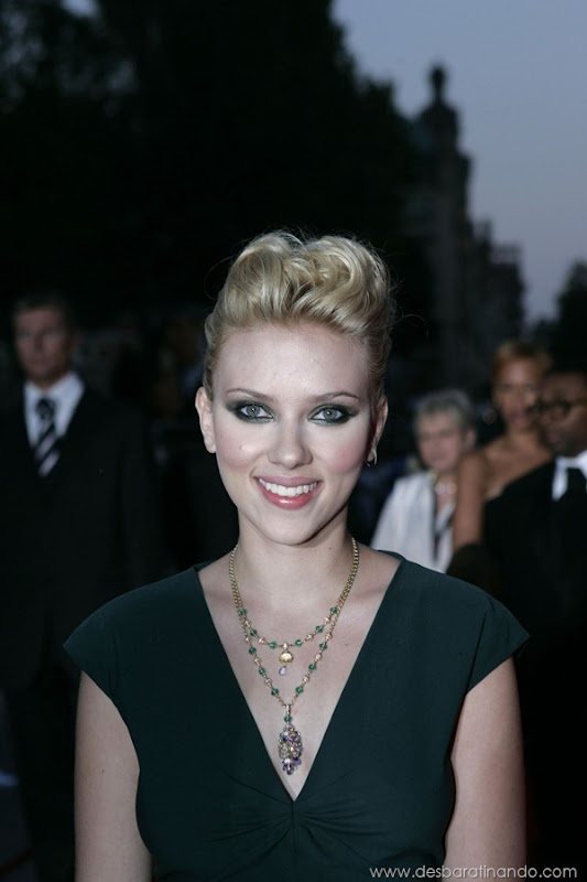 Pictured: Scarlett Johansson at The 61st Venice International Film Festival. Photo Credit: Carlo Allegri.