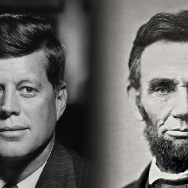 As estranhas coincidências que envolvem Lincoln e Kennedy