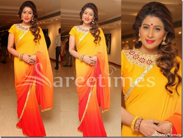 Shreedevi_Tricolor_Georgette_Saree