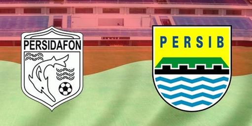 Babak Petama: Persidafon vs Persib Masih 0-0.