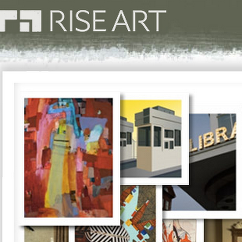 Rise Art – Art Rentals and Online Portfolio