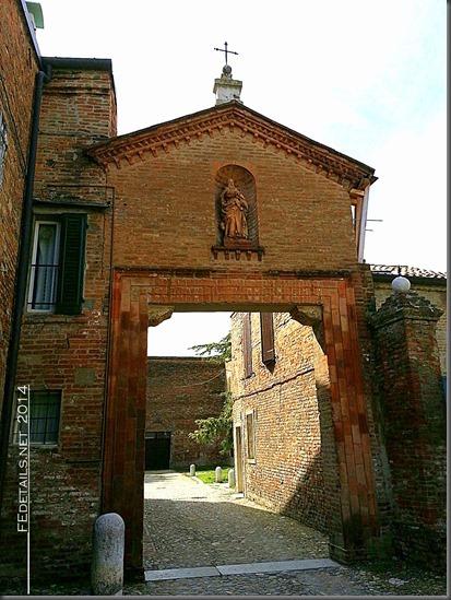 Monastero di S. Antonio in Polesine, Ferrara