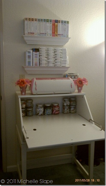 My Lifea Happy Life My New Cricut Station And Scrapbook Desk