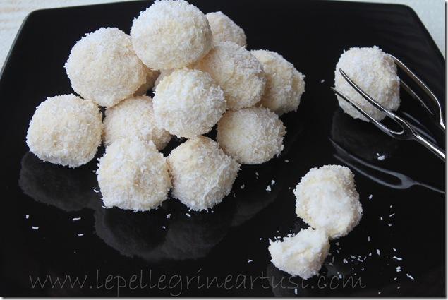 dolcetti di ricotta, cocco e cioccolato bianco 007