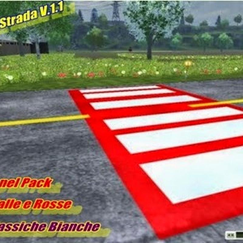 Farming simulator 2013 - Texture Pack Strada V 1.1