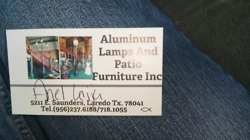 Aluminum Lamps & Patio Furniture