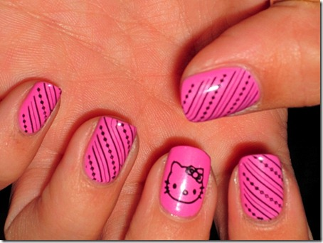 HelloKitty-simple-nail-design06