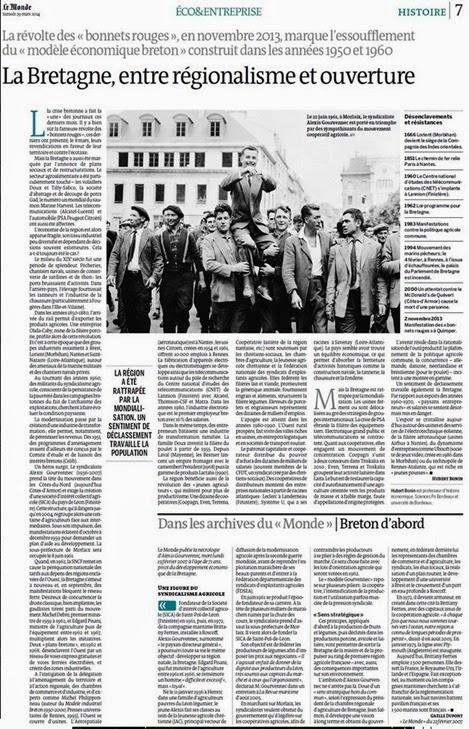 regionalisme breton segon Le Monde