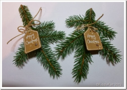 Fir Christmas Place setting
