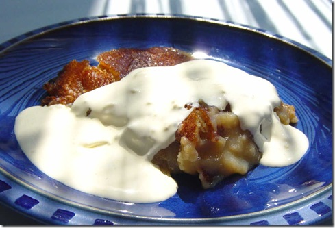 Gooseberry Pudding