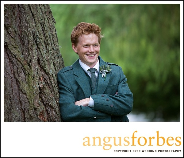 scottish groom at wedding Scottish wedding Photographer Dundee_001
