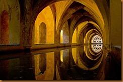 seville, alcazar Dona Padilla baths