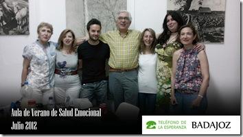 aula de verano de salud emocional julio 2012 Badajoz