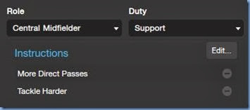 Central Midfielder in FM 2014 Tactics