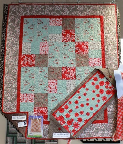 Just Can't Cut It Christmas quilt