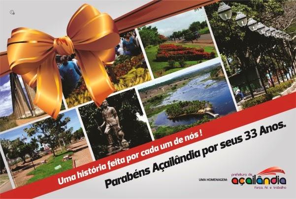 Aniversário Açailandia - Prefeitura