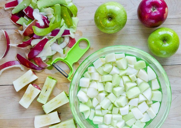 Peeling & Slicing Apples