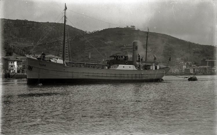 Vapor ELDA. Seguramente la foto del constructor. Ca. 1919. Foto Gure Guipuzcoa.jpg